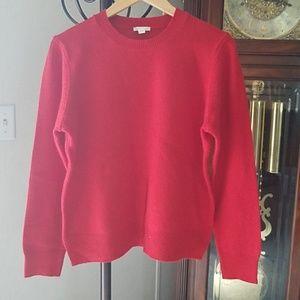 EUC GAP Womens Red Wool Sweater Size Large